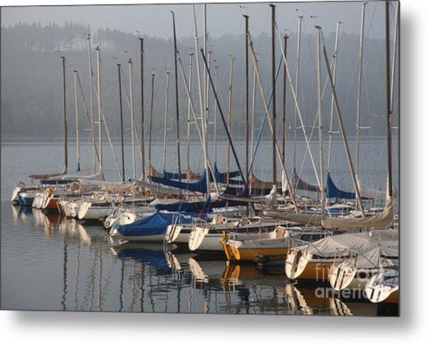 Sail Boats Metal Print