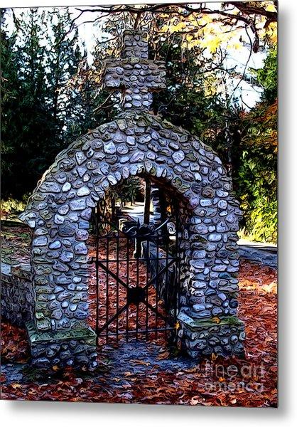 Saint Ann Cemetery Metal Print