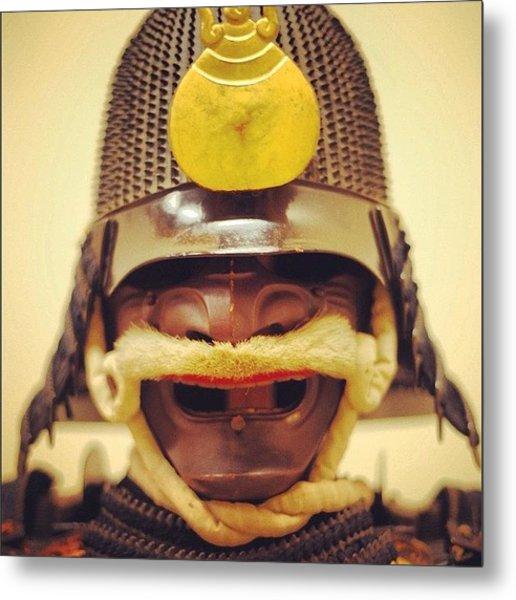 #samuraiarmour #samurai #armour Metal Print