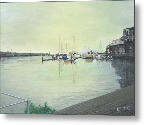 San Franciscio Bay Metal Print