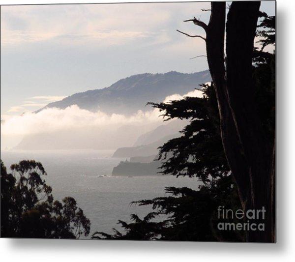 San Francisco Bay Fog Metal Print