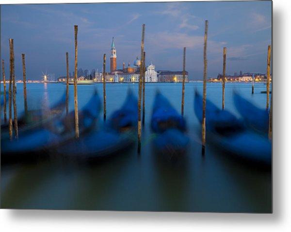 San Giorgio Maggiore With Twilight Sky Metal Print