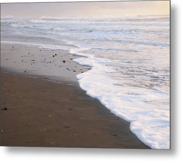 Sans Footprints Metal Print