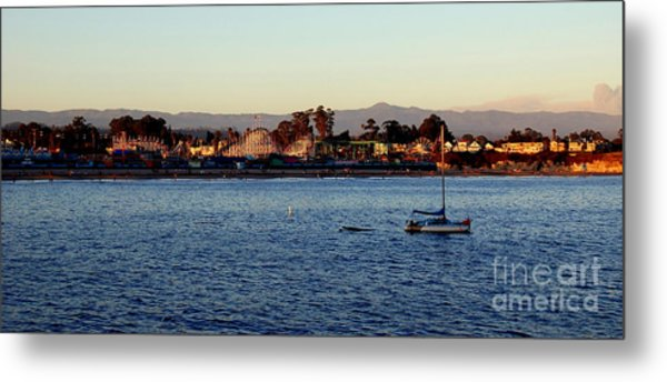 Santa Cruz Boardwalk  Metal Print