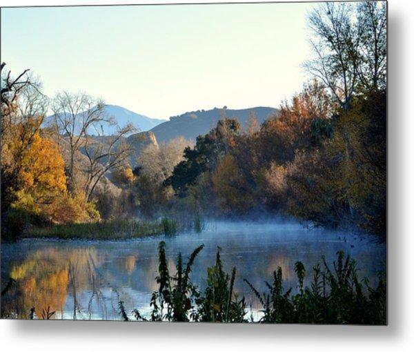 Santa Ynez River Metal Print
