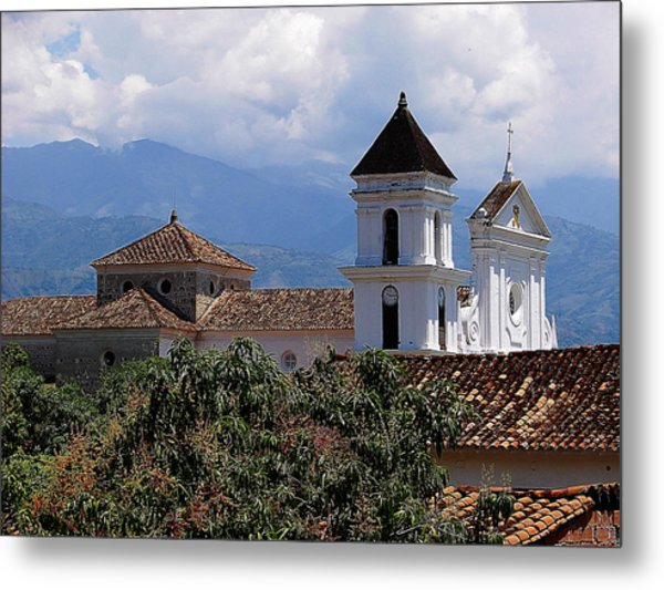 Santafe De Antioquia Metal Print by Blair Wainman