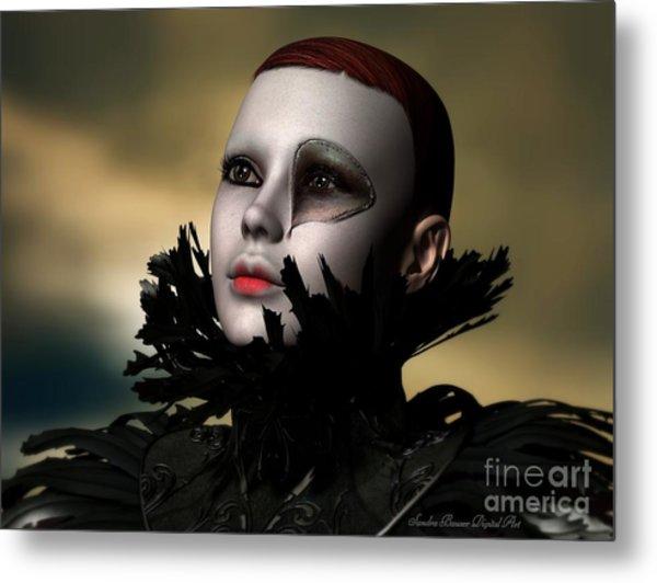Scarred Beauty Metal Print by Sandra Bauser Digital Art
