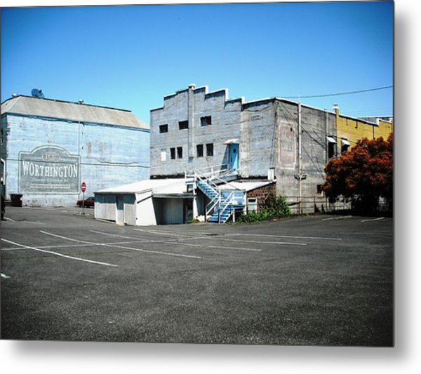 Scene Of The Rescue Saint Helens Metal Print