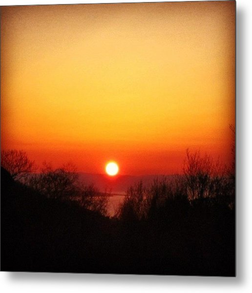 Scottish Sunset Metal Print