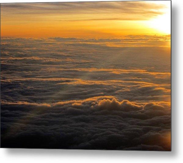 Sea Of Clouds Metal Print by Jyotsna Chandra