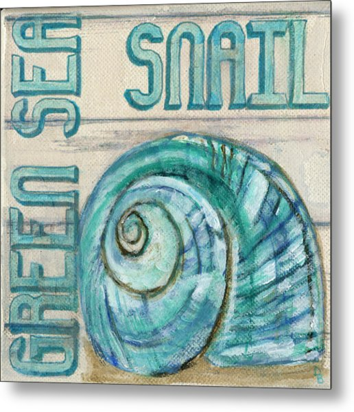 Sea Snail Metal Print