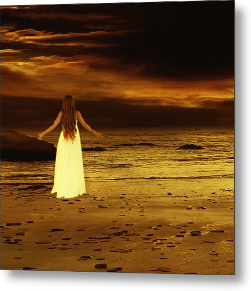 Search For Peace Metal Print