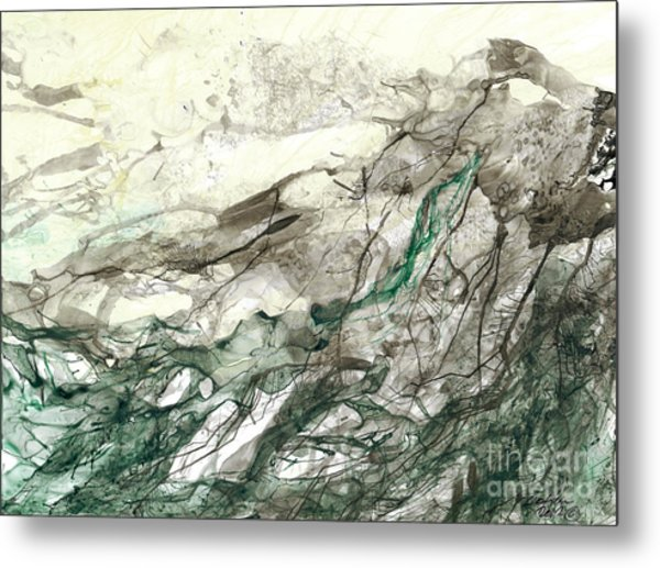 Seascape 04 Metal Print by David W Coffin