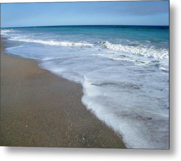 Seascape Wrightsville Beach Nc  Metal Print