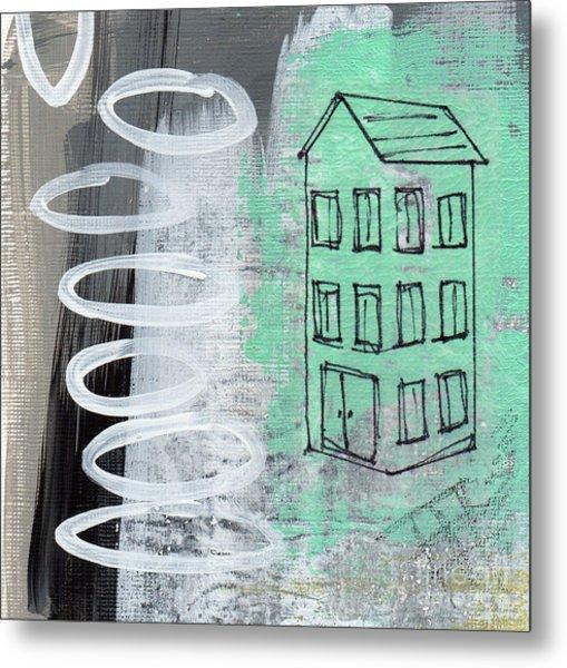 Secret Cottage Metal Print