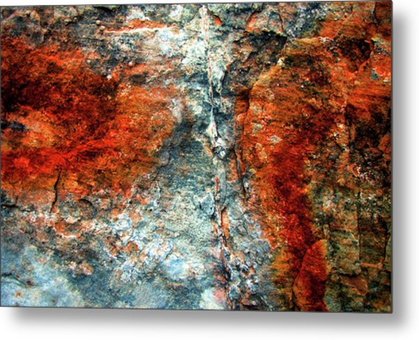 Sedona Red Rock Zen 3 Metal Print