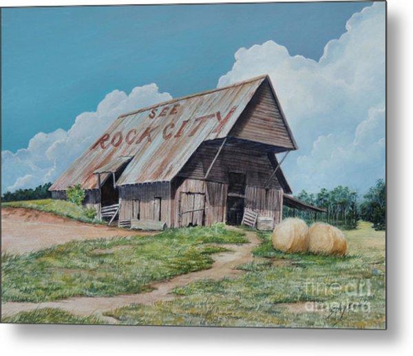 See Rock City Sold  Metal Print