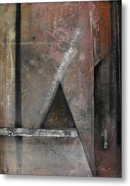 Seem  Seam Metal Print by Ralph Levesque