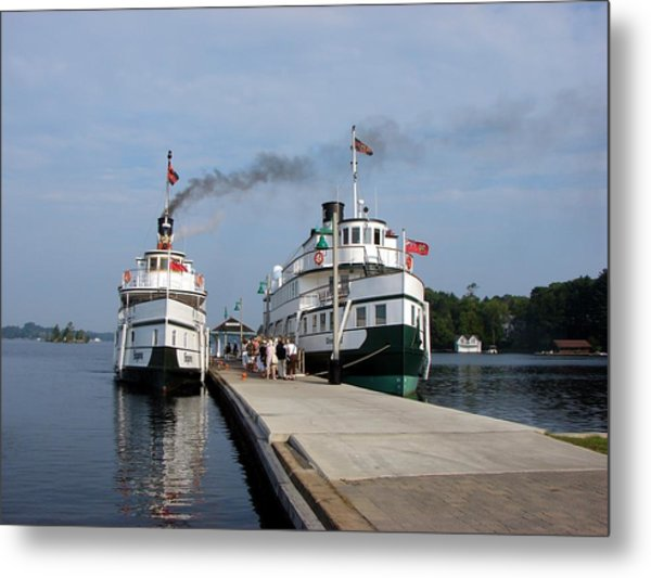 Seguin And Winona At Gravenhurst Metal Print
