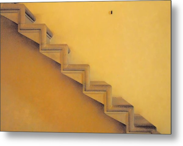 Seven Steps To Metal Print by