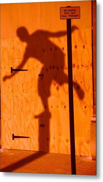 Shadow Play  Metal Print