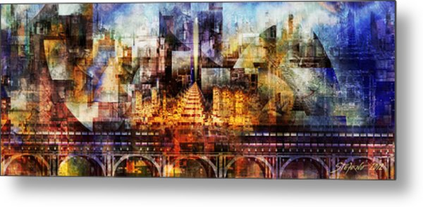 Shangri La Revisited Metal Print