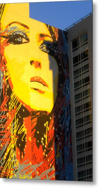 She Has Stars In Her Eyes Metal Print
