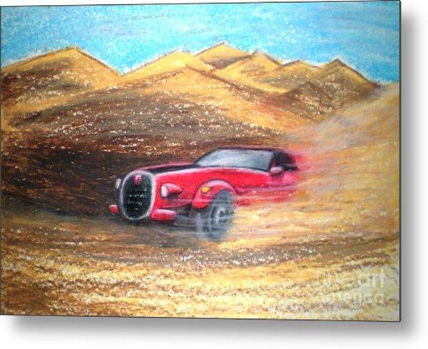 Sheikhs Dirt Racer Metal Print by C Ballal