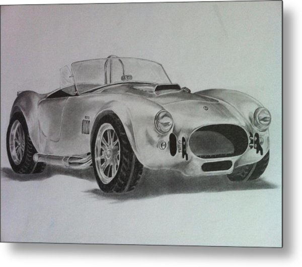 Shelby Cobra Metal Print by Aaron Mayfield