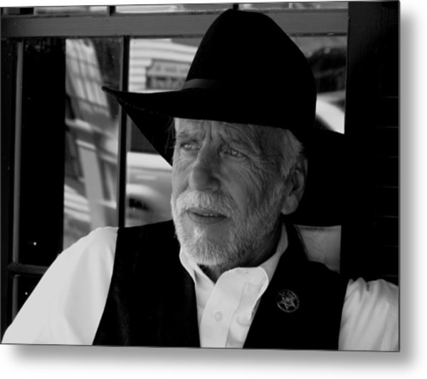 Sheriff Metal Print by Patty Gross