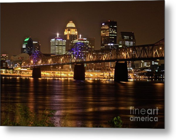 Sherman Minton Bridge Metal Print