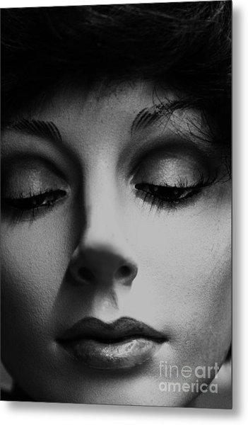 She's Stiff Metal Print by David Taylor