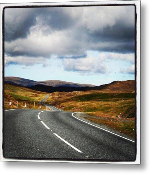 Shetland's Road Metal Print