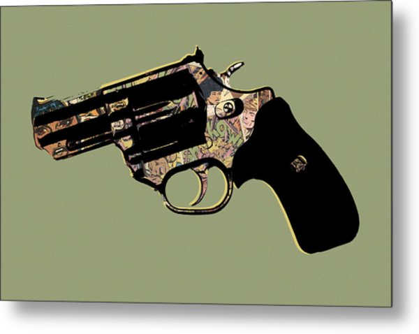 Shkow Metal Print by Canis Canon