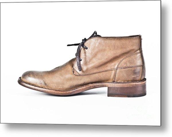 Shoe Metal Print by Chavalit Kamolthamanon