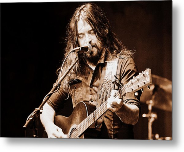 Shooter Jennings - Blurring The Lines Metal Print