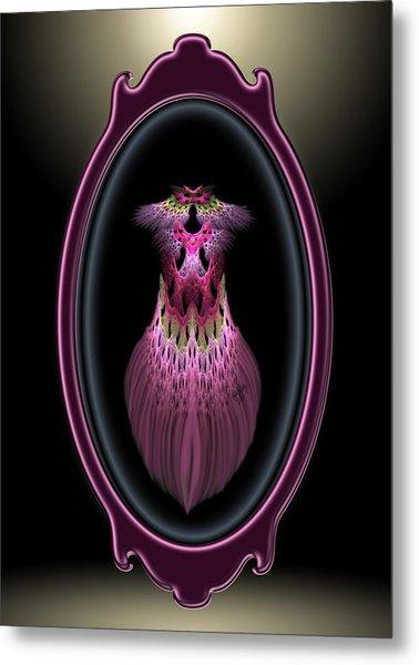 Showgirl Reflection Metal Print