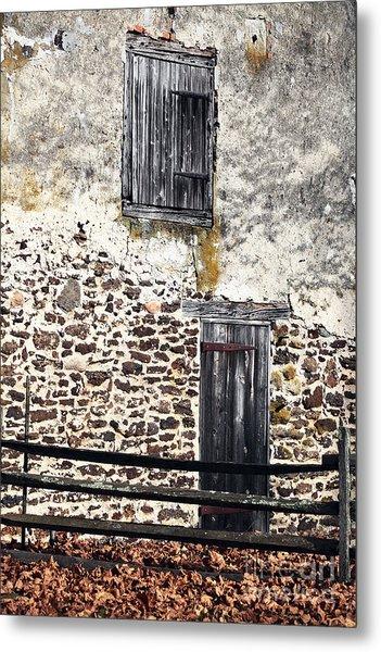 Side Entrance Metal Print by John Rizzuto