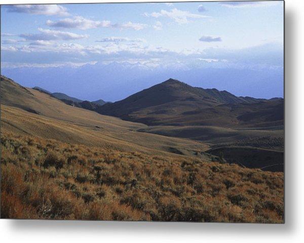 Sierra Escarpment From Whites Metal Print