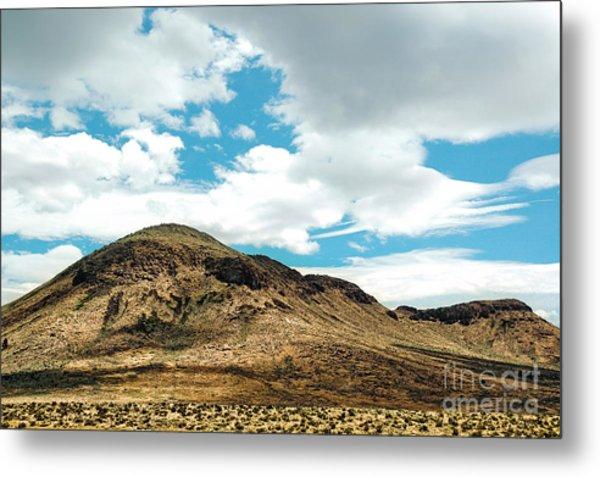 Sierra Nevadas Metal Print by HD Connelly