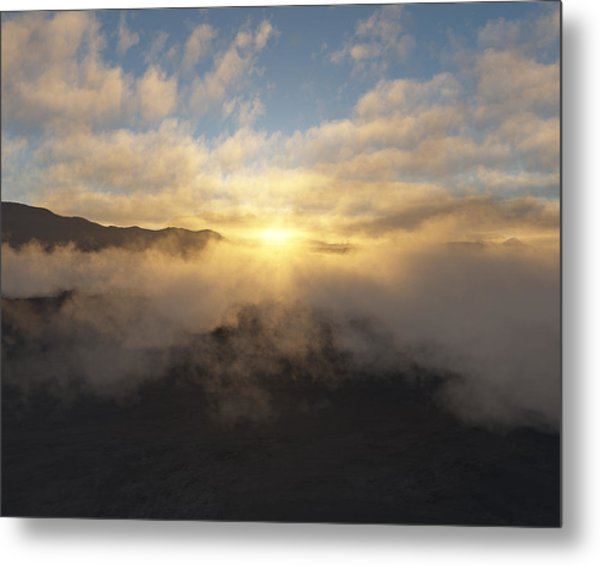 Sierra Sunrise Metal Print