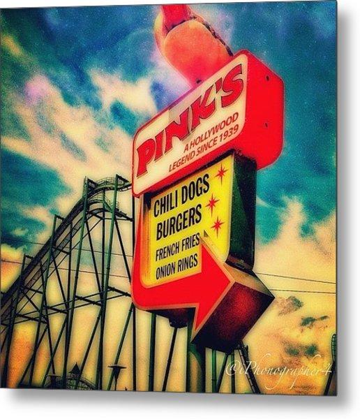 #sign At #cedarpoint In #ohio #ohiogram Metal Print