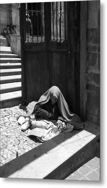 Silent Desperation Metal Print