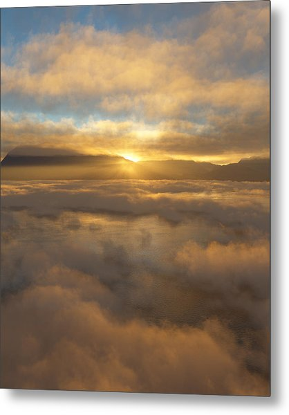 Silver Lake Sunrise Metal Print