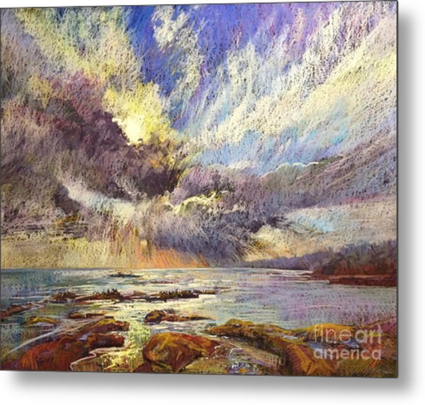 Silver Lining Metal Print by Pamela Pretty