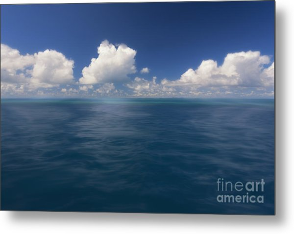 Simplicity Great Barrier Reef Metal Print