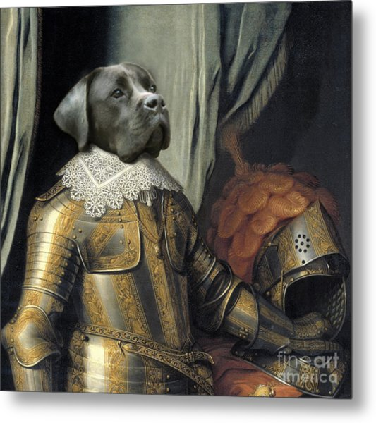 Sir Dog Metal Print