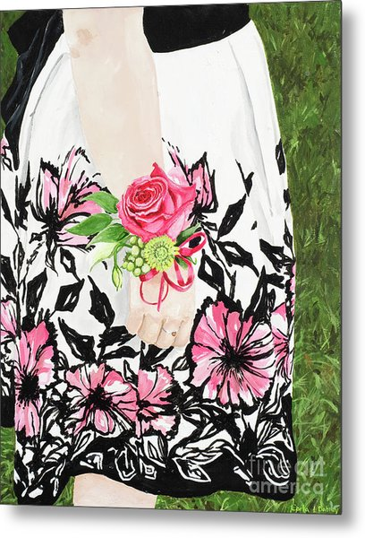 Sister Of The Groom Metal Print by Carla Dabney