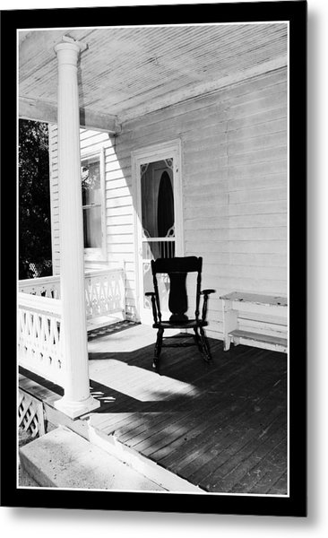 Sit For A Spell Metal Print