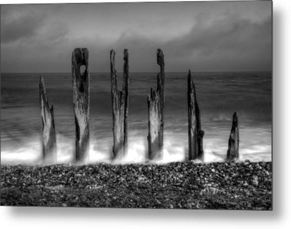 Six Sticks Metal Print by Mark Leader